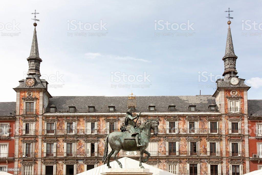 Plaza Mayor, Madrid, Spain stock photo
