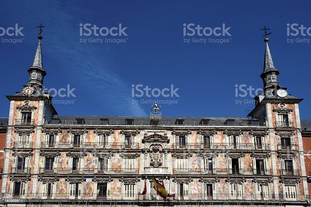 Plaza Mayor royalty-free stock photo