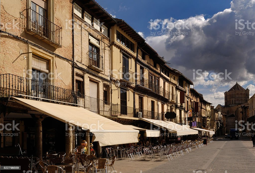 Plaza Mayor, Toro, provincia de Zamora, España stock photo