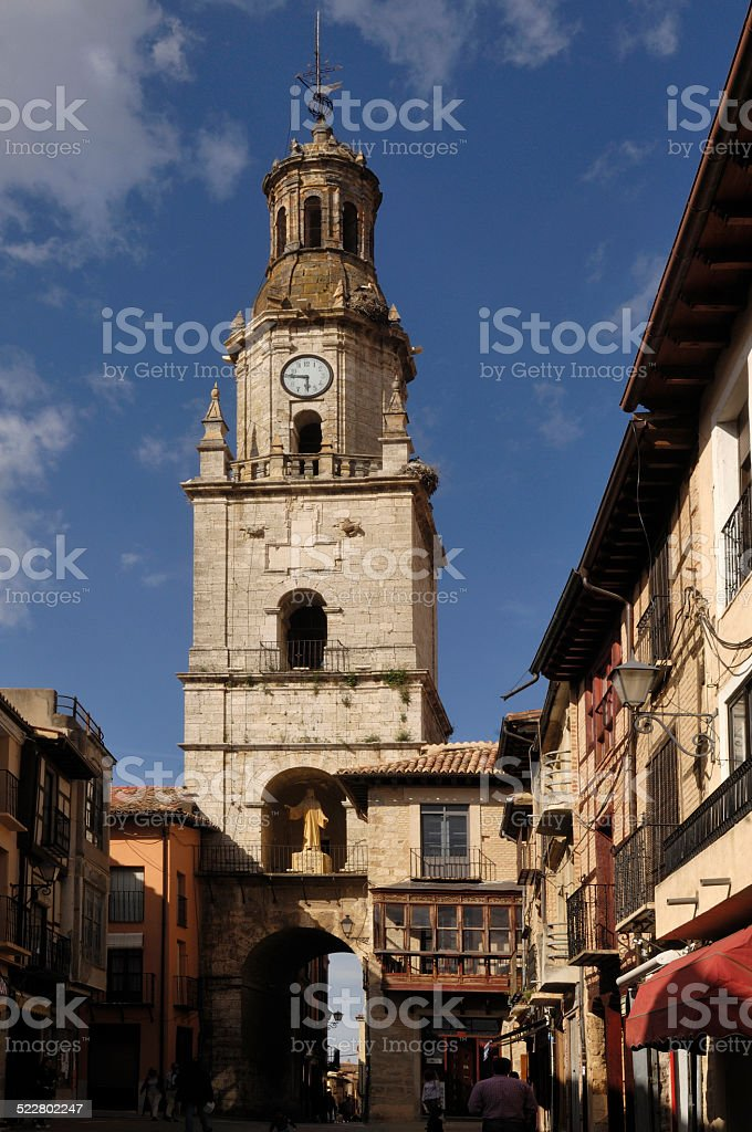 Plaza Mayor, Toro, provincia Zamora, Spain stock photo