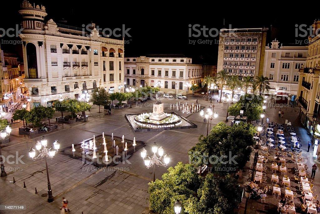 plaza stock photo