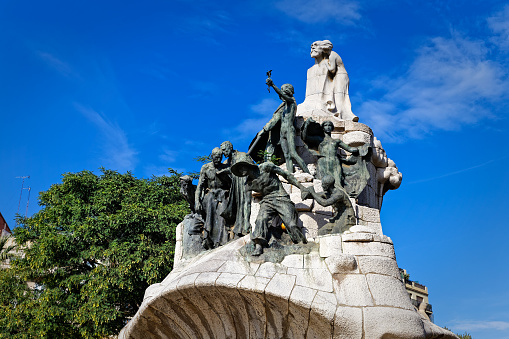Plaza Tetuan In Barcelona Spain Stock Photo Download Image Now Istock