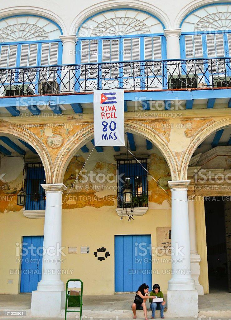 Plaza Vieja, La Habana royalty-free stock photo