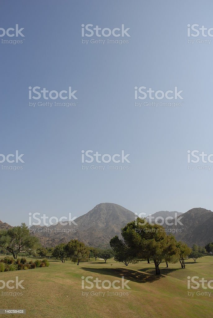 Pleasant bucolic scene royalty-free stock photo
