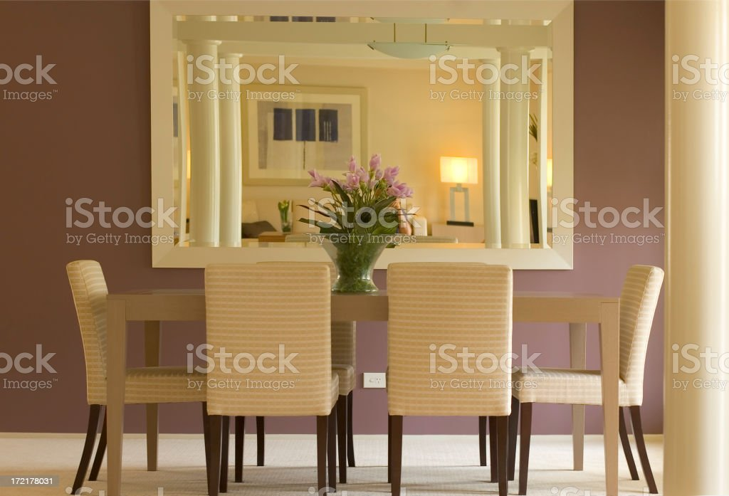 Pleasant Dining royalty-free stock photo
