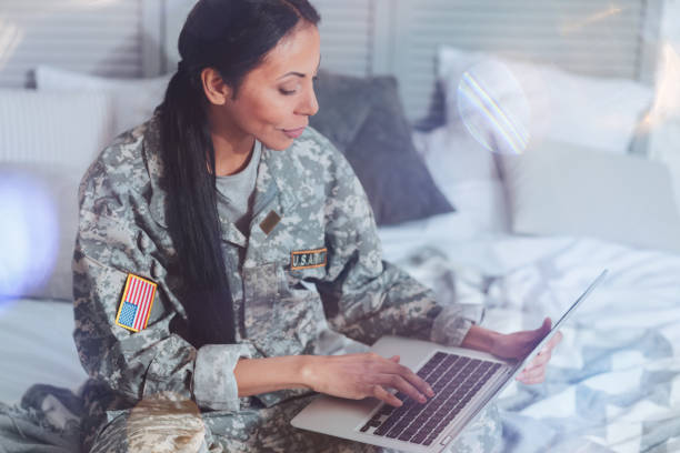 Of military officers pictures us female Army's first