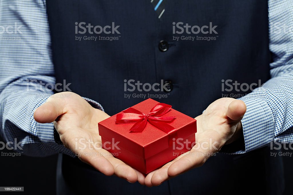 Pleasant little thing stock photo