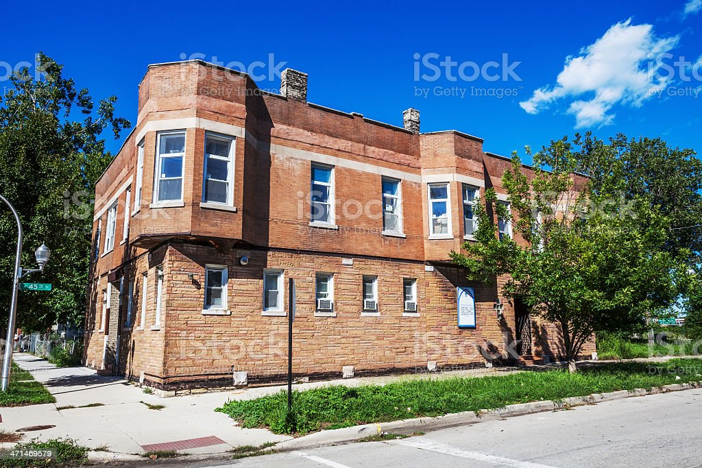 Pleasant Valley Missionary Baptist Church, Chicago royalty-free stock photo