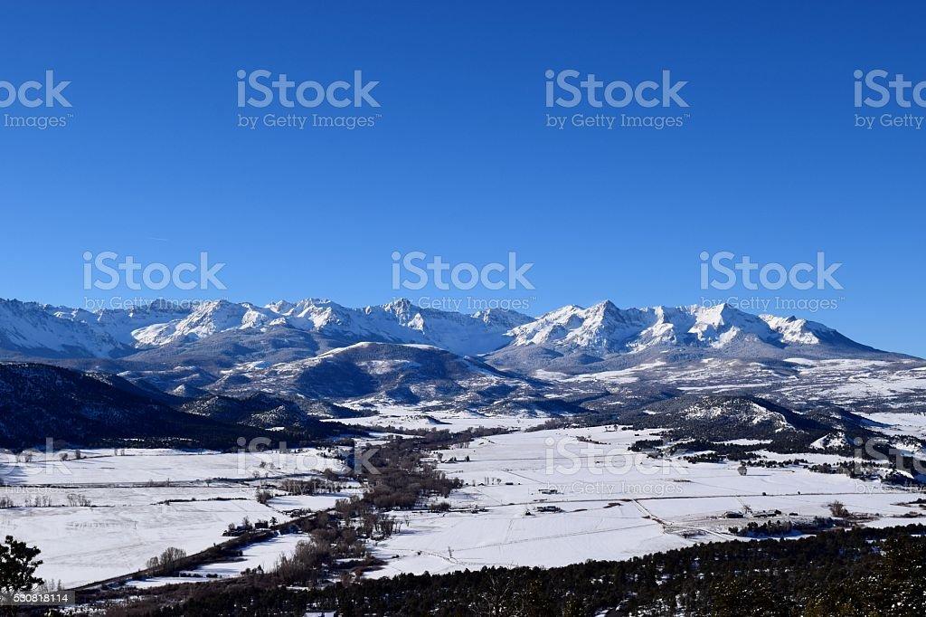 Pleasant Valley stock photo