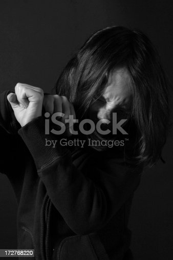 istock Please don't hurt me! 172768220