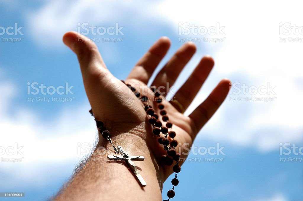 Please God ! stock photo
