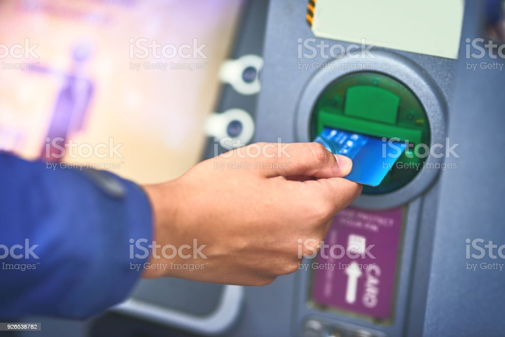 Please Insert Your Card Stock Photo More Pictures Of Atm Istock