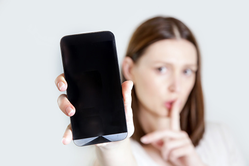 istock Please silence your cell phone 959559244