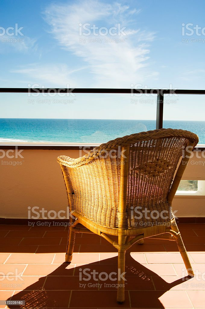 Please sit down royalty-free stock photo