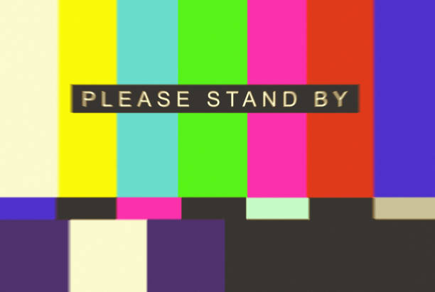 Please Stand By Test Pattern – zdjęcie