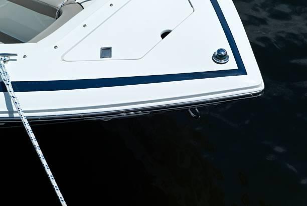 Pleasure Boat in Muskoka stock photo