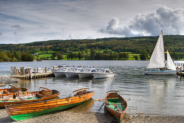 Boote auf Coniston water – Foto