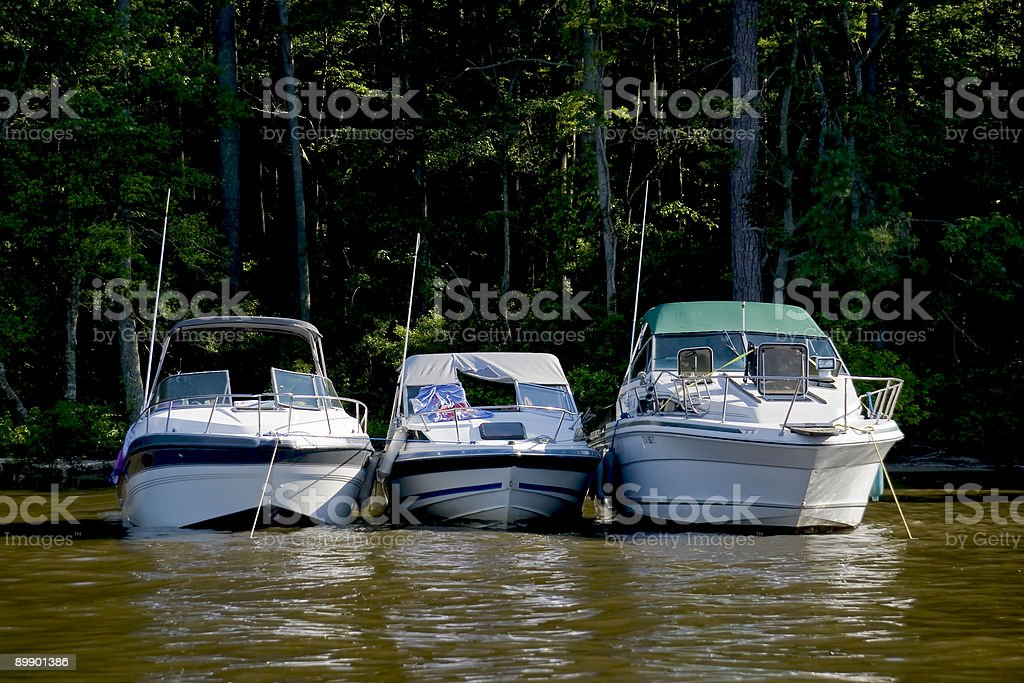 Boote Lizenzfreies stock-foto