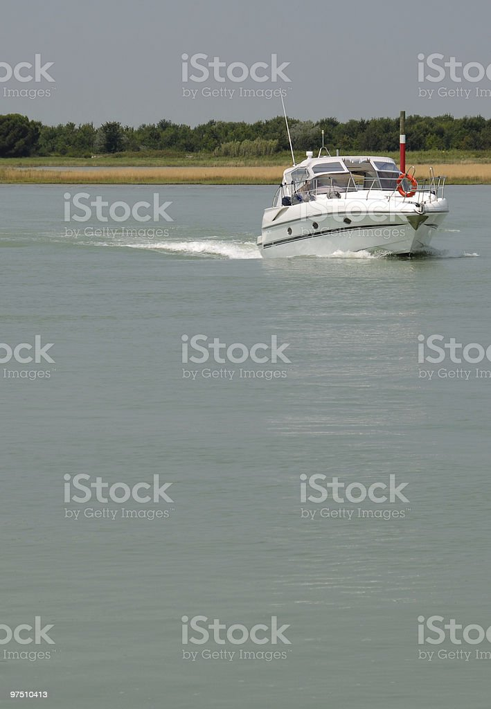 Pleasure craft royalty-free stock photo