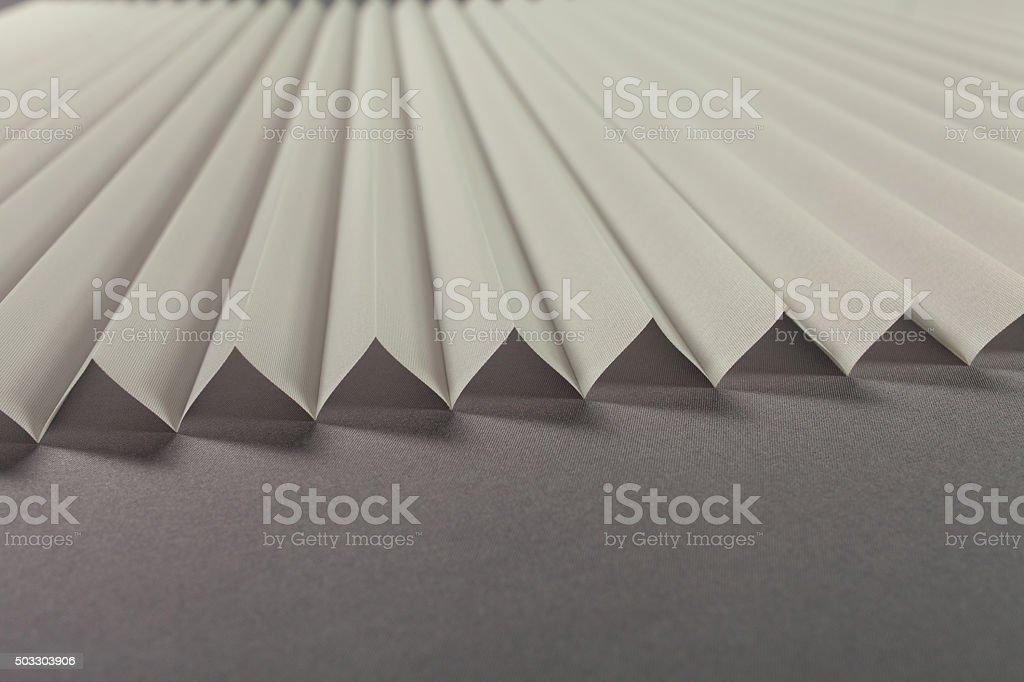 Pleated Blind Background stock photo