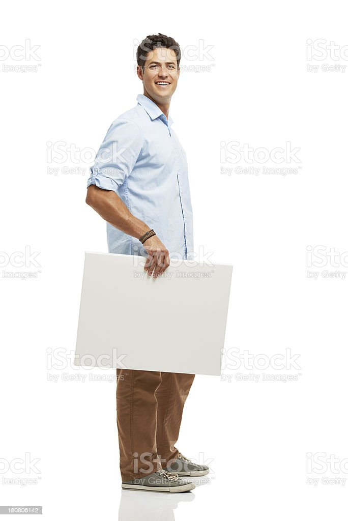 Plenty of space for your copy! royalty-free stock photo