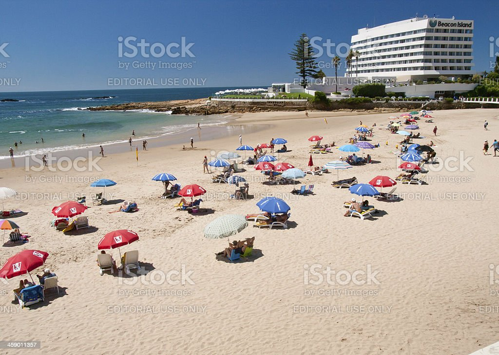 Plettenberg Bay  Beach stock photo