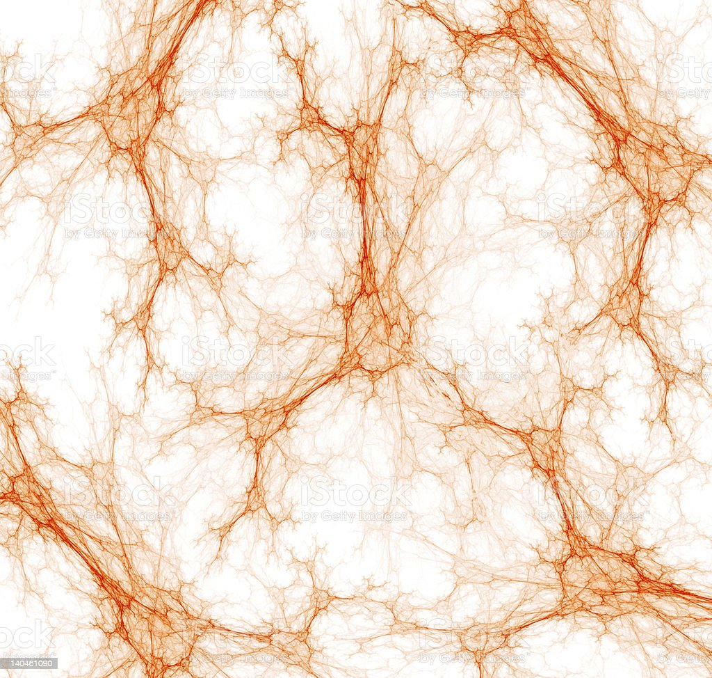 Plexuses of capillary abstract stock photo