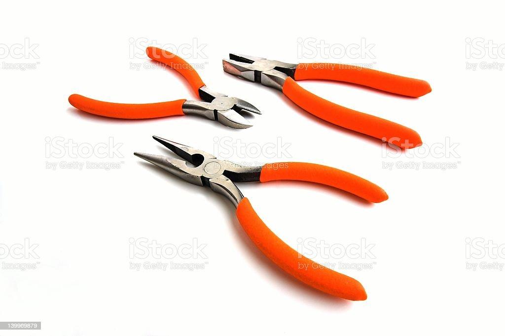pliers stock photo