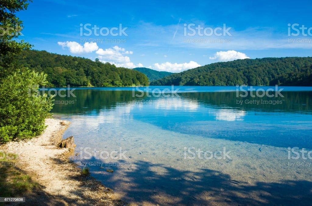 Plitvice Lakes National Park Croatia Europe stock photo