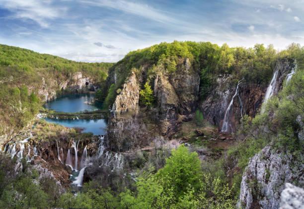 nationalpark plitvicer - nationalpark plitvicer seen stock-fotos und bilder