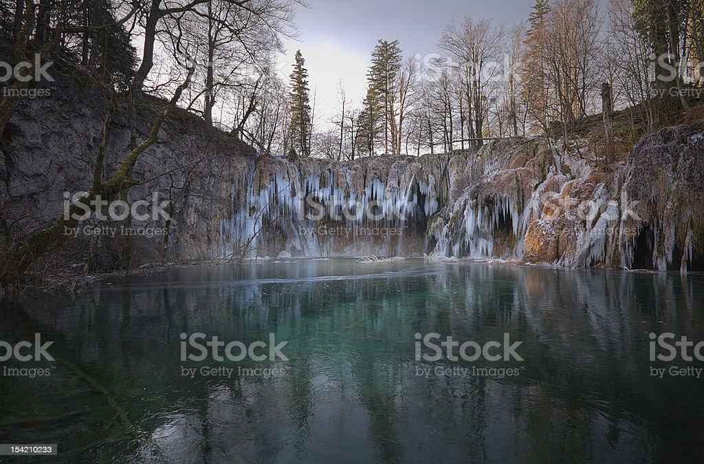 Cachoeiras de Plitvice foto royalty-free