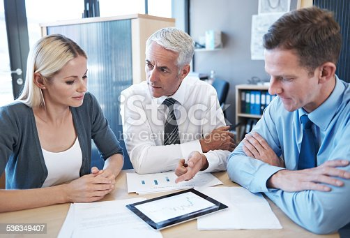 istock Plotting the course to success 536349407