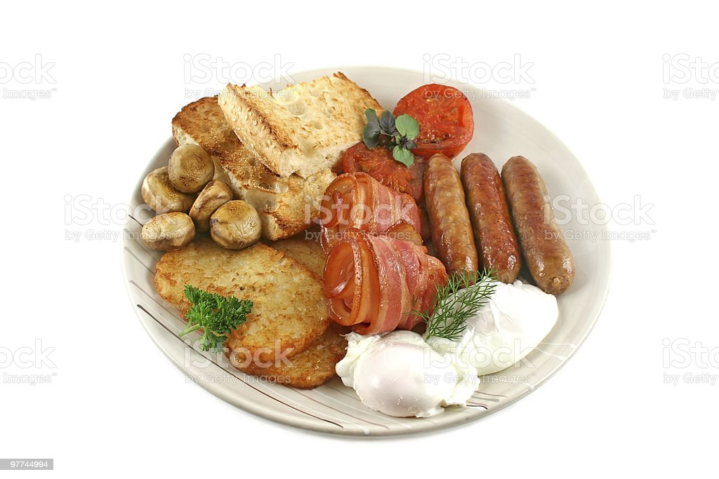 Ploughmans Breakfast royalty-free stock photo