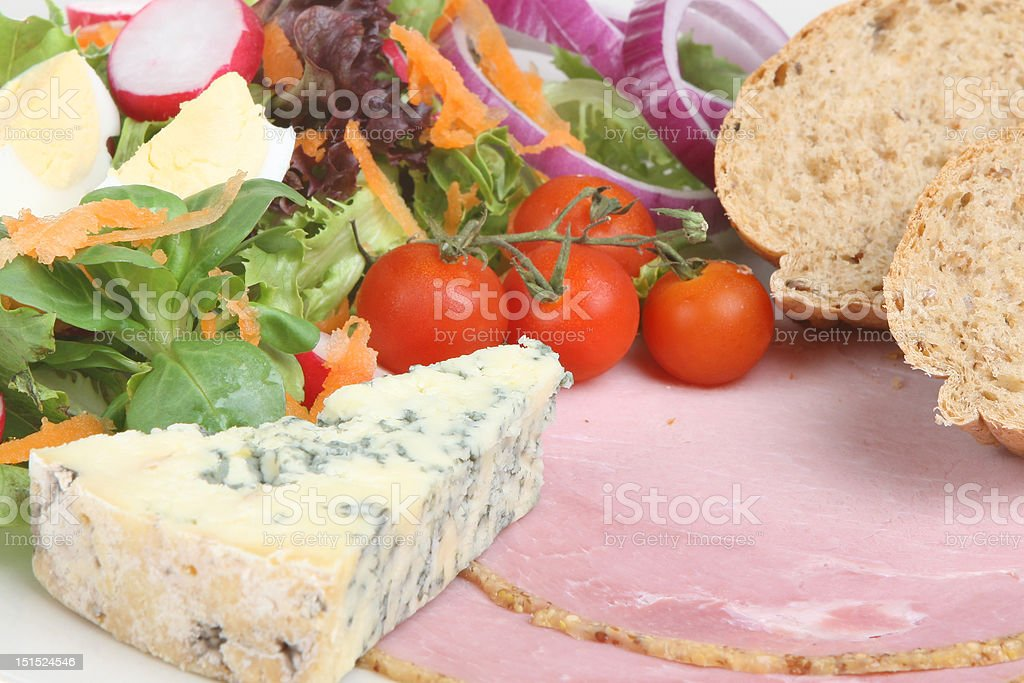 Ploughman's Lunch stock photo