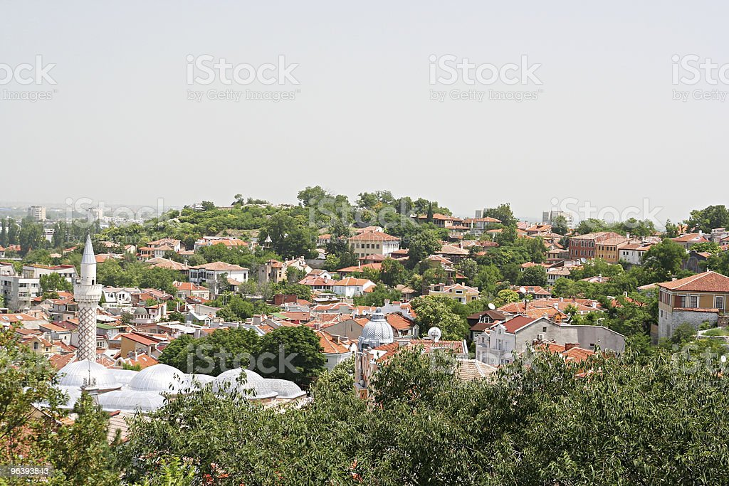Plovdiv Old Town - Royalty-free Architecture Stock Photo
