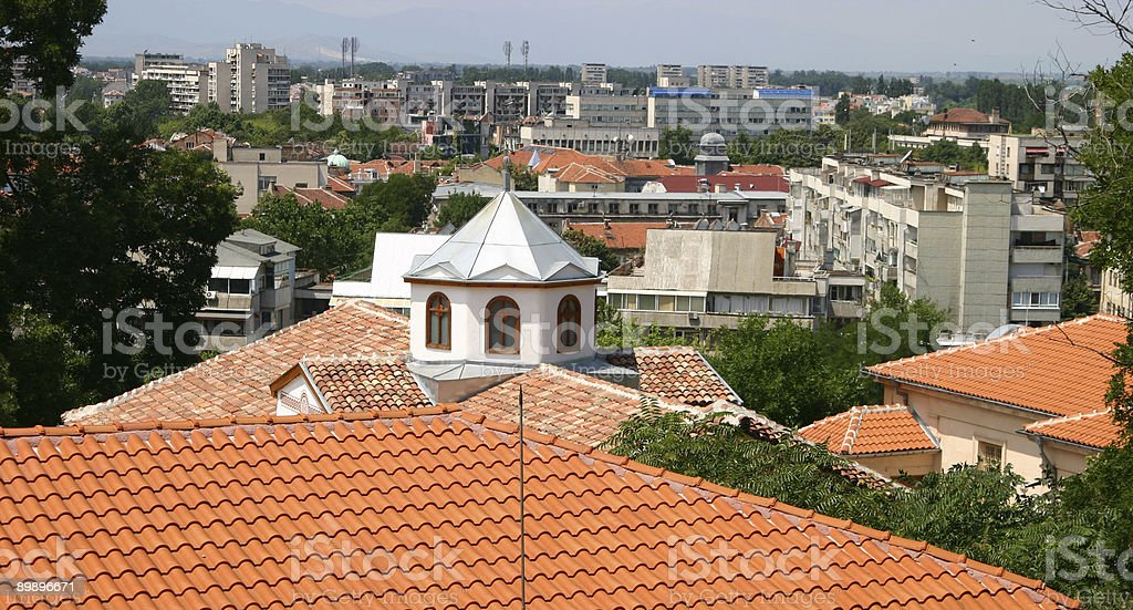 Plovdiv Lizenzfreies stock-foto