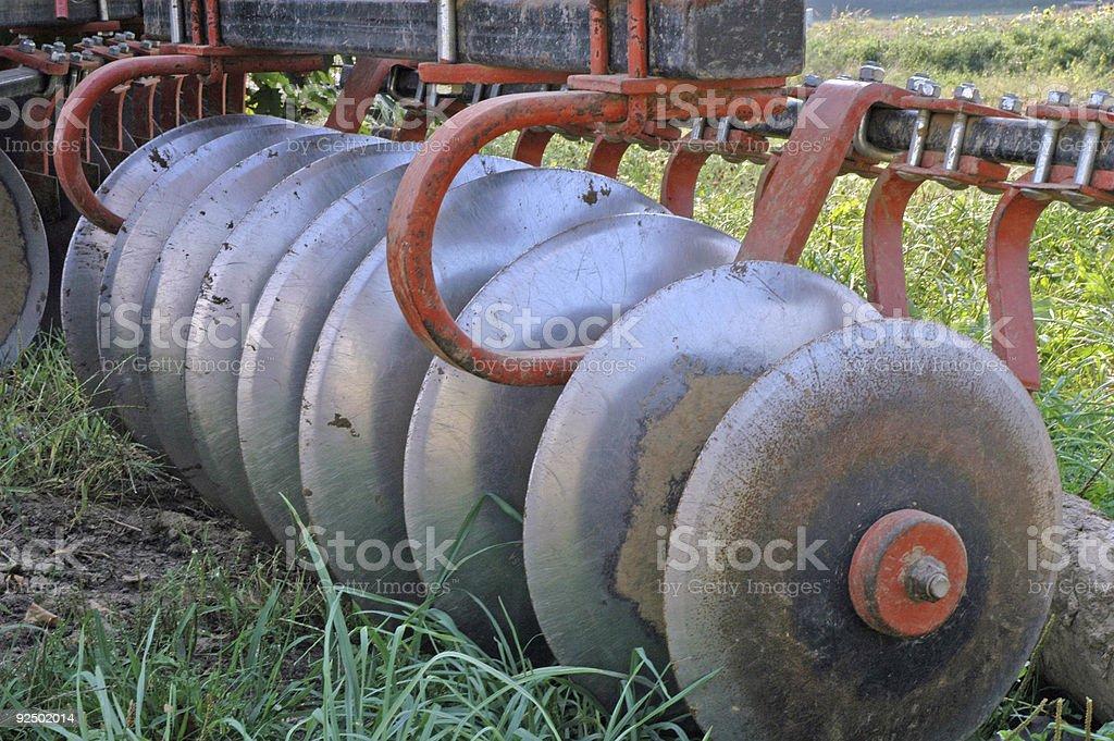 Plow rake royalty-free stock photo