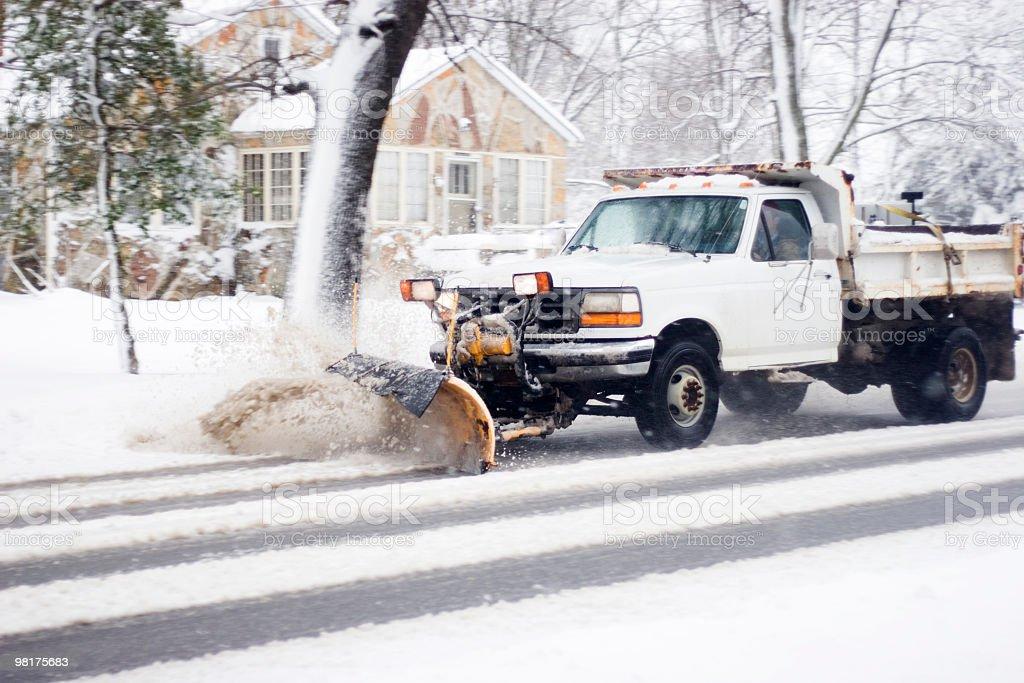 Plow that Snow royalty-free stock photo