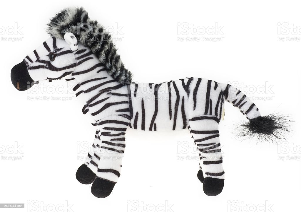 Plüschtier Zebra – Foto