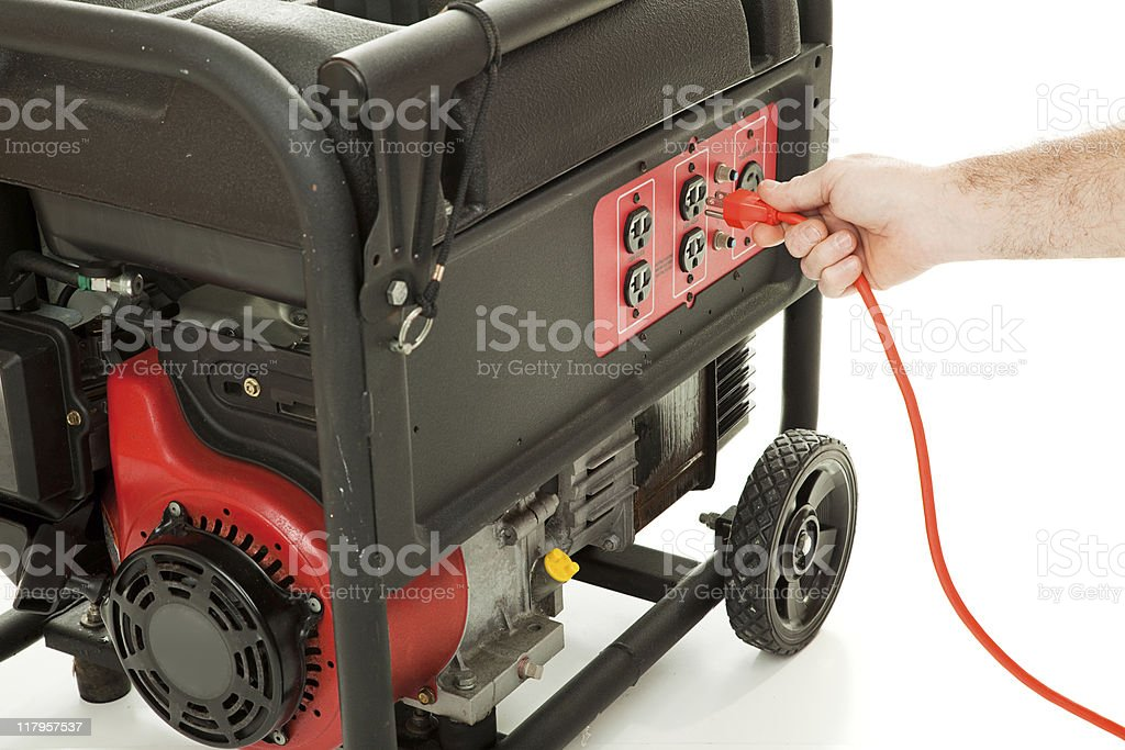 Plug In To Power stock photo