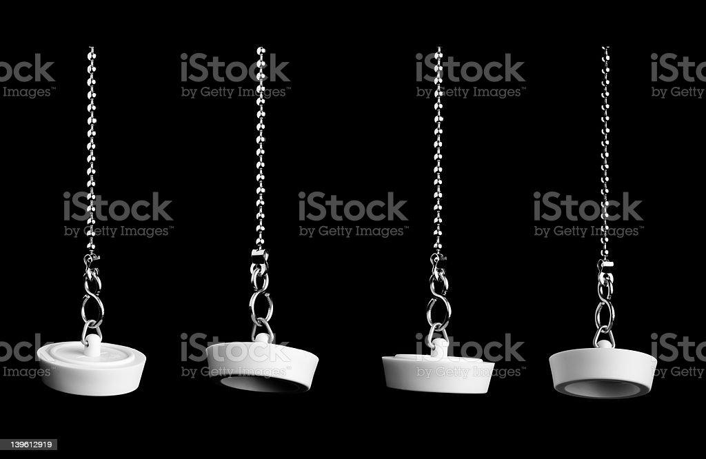 plug on black stock photo