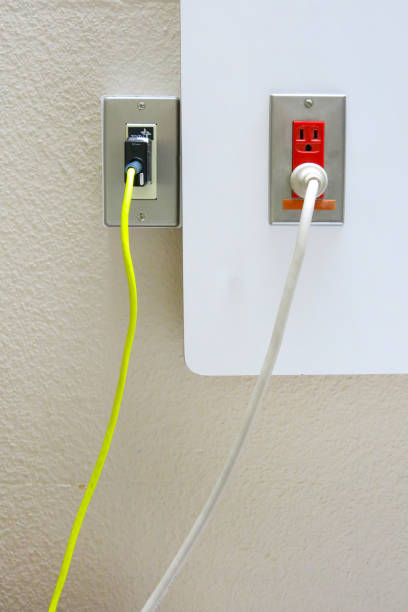 plug socket plug socket 病院 stock pictures, royalty-free photos & images