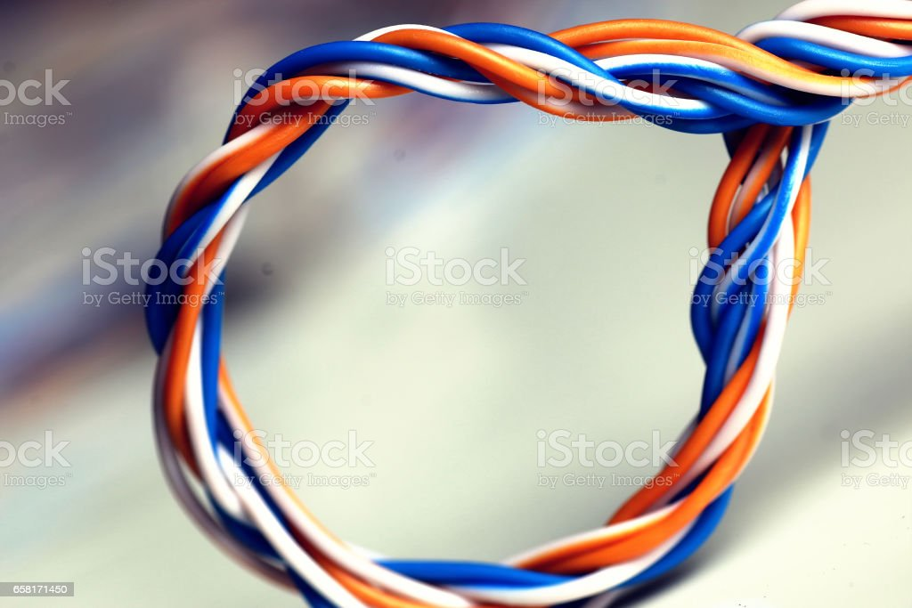 Prime Plug Wire Color Lan Stock Photo More Pictures Of Abstract Istock Wiring 101 Olytiaxxcnl