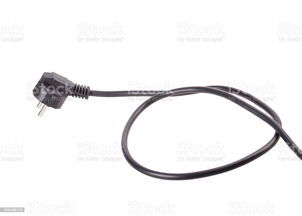 plug wire stock photo