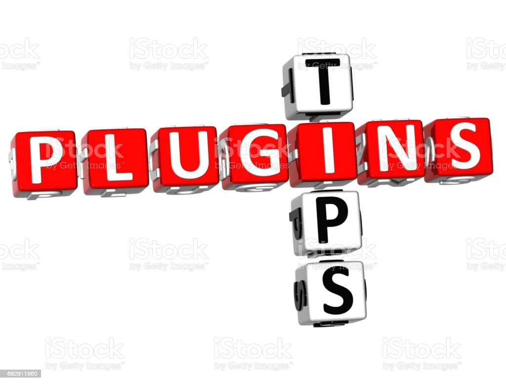 Plugin Tips Crossword Stock Photo - Download Image Now - iStock