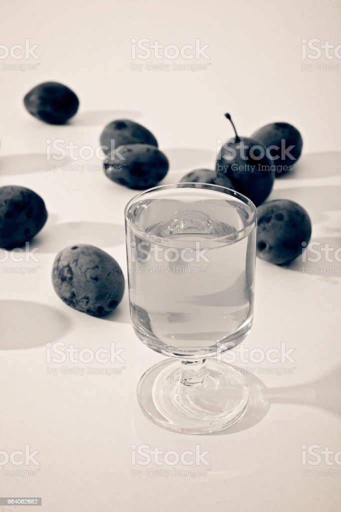 plum brandy - Royalty-free Agriculture Stock Photo