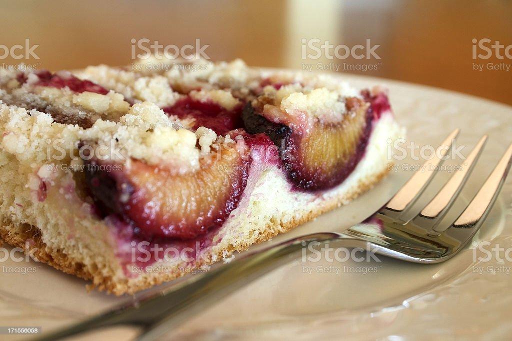 Plum Cake royalty-free stock photo