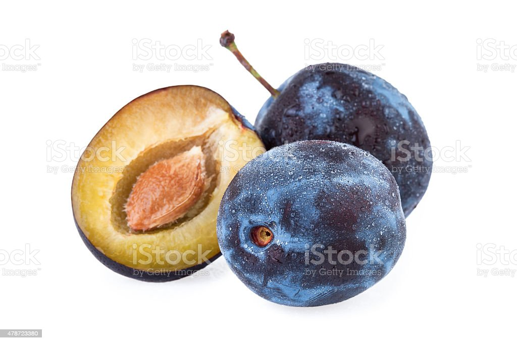 Plum Fruit stock photo