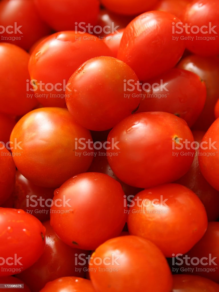 Plum tomatoes royalty-free stock photo