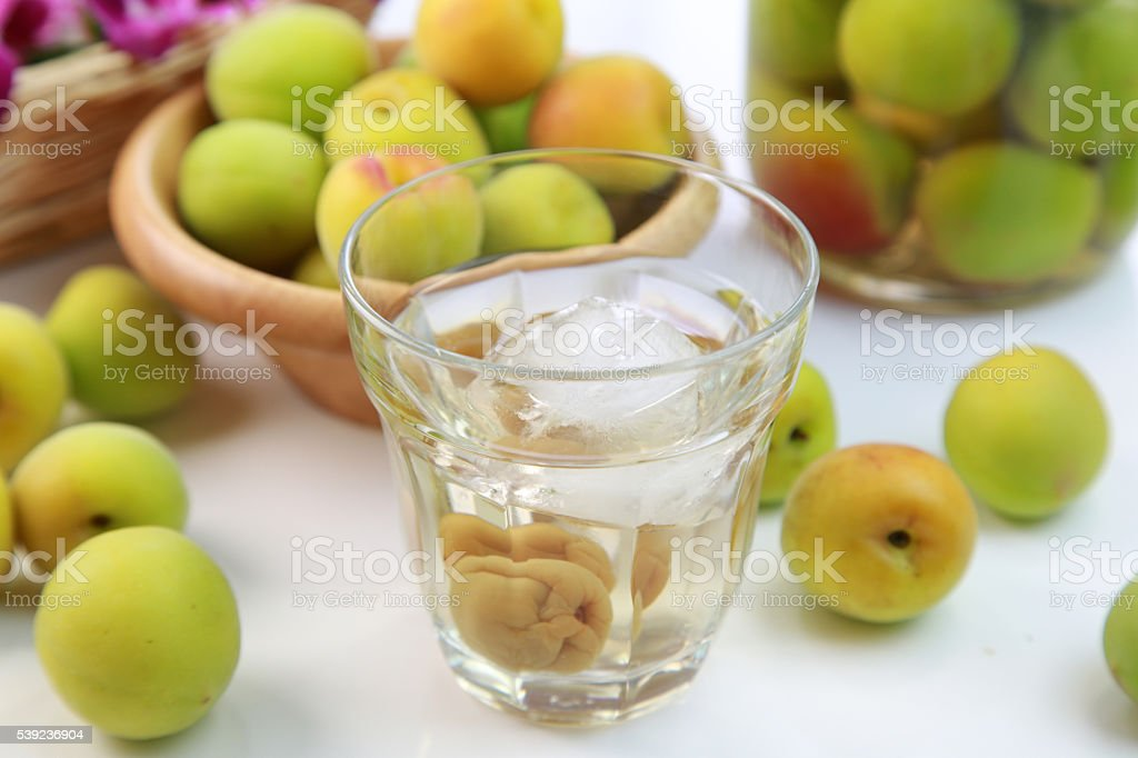Plum wine royalty-free stock photo